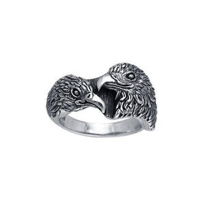 Ted Andrews Hawk Ring TRI146 Ring