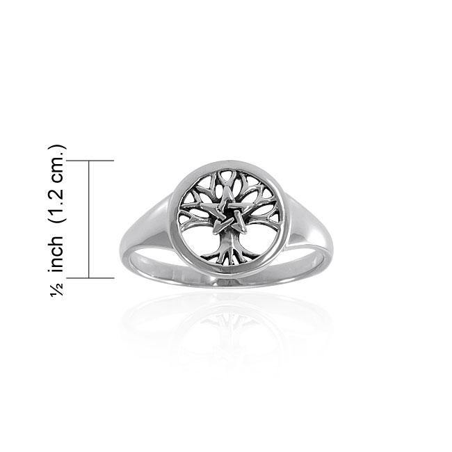 Celtic Tree of Life The Star Ring TRI1535