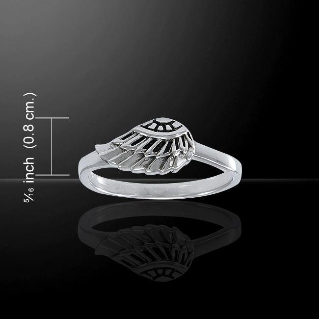 Angel Wing Ring TRI1547