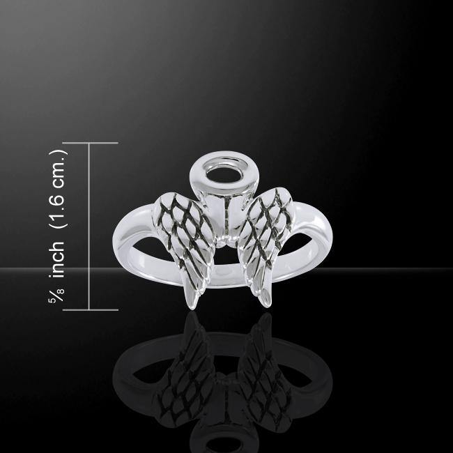Angel Wings Halo Ring TRI1549
