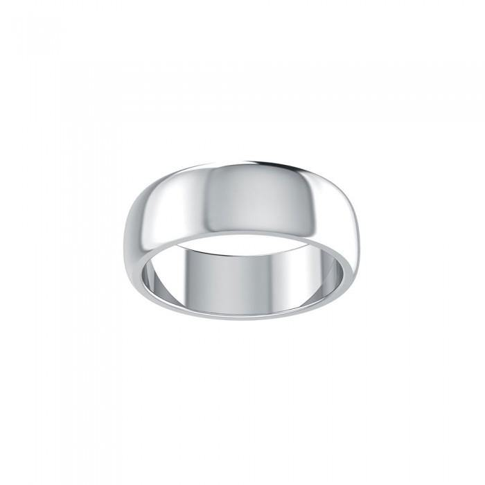3 Words That Matter Plain Silver Ring TRI1650 Custom Word