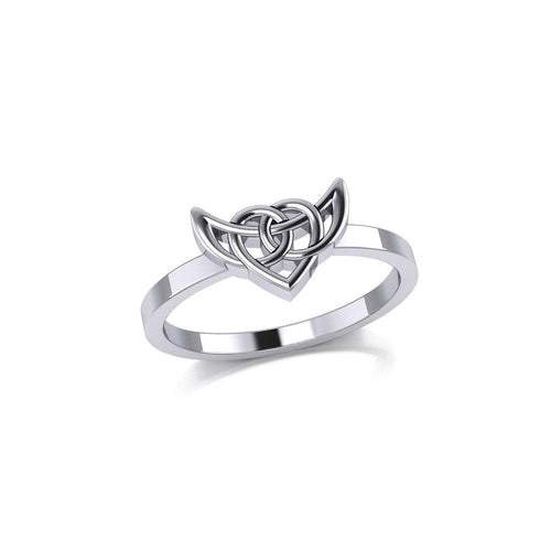 Celtic Knotwork Silver Ring TRI2166 Ring