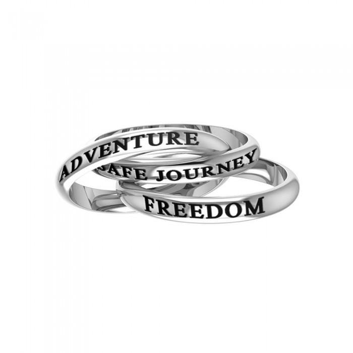 Freedom Adventure Safe Journey Ring TRI252