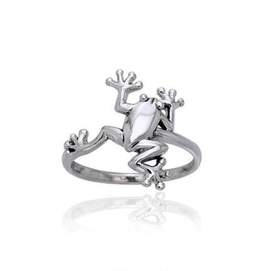 Frog Sterling Silver Ring TRI391