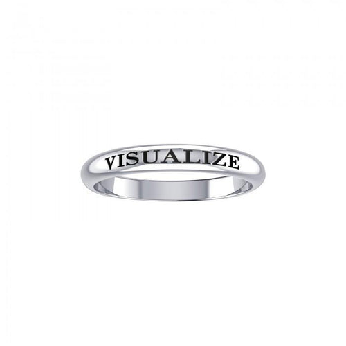 Visualize Silver Ring TRI419 peterstone.