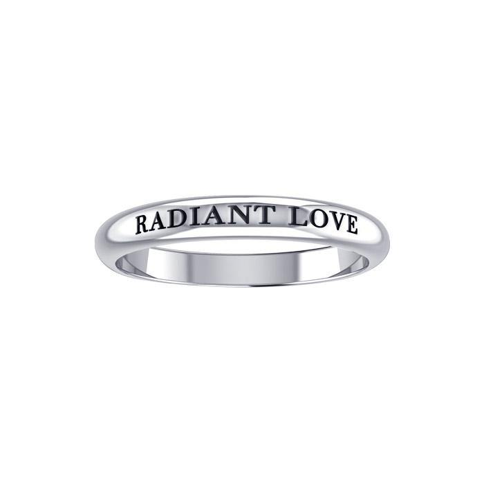 Radiant Love Silver Ring TRI426 peterstone.