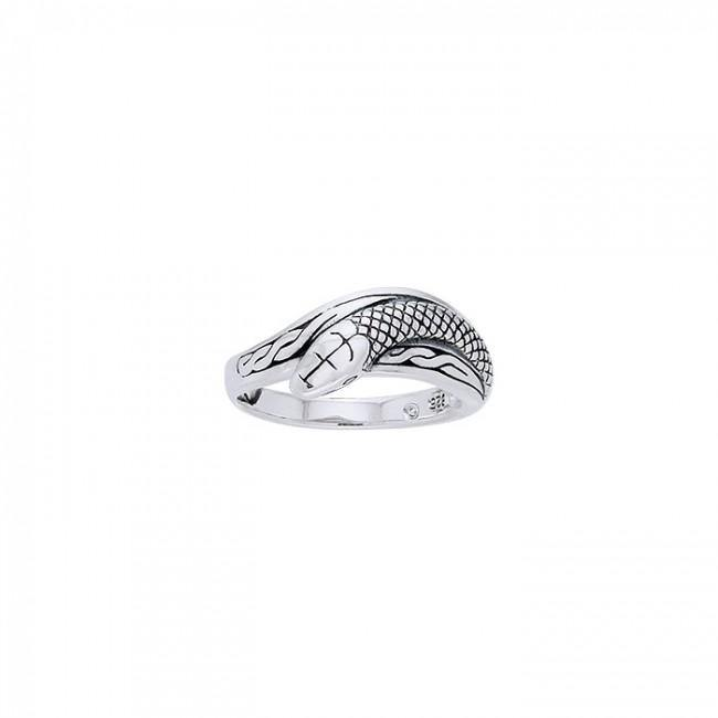 Celtic Snake Ring