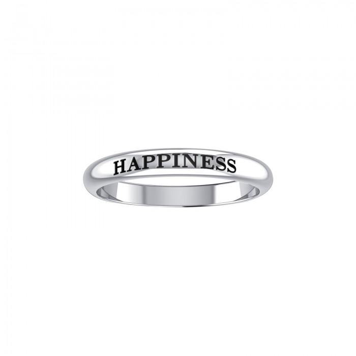 HAPPINESS Sterling Silver Ring TRI606