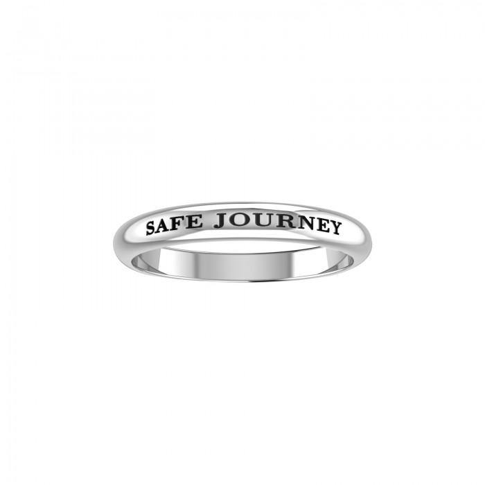 SAFE JOURNEY Sterling Silver Ring TRI615 peterstone.