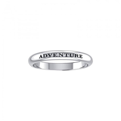 ADVENTURE Sterling Silver Ring TRI617 peterstone.
