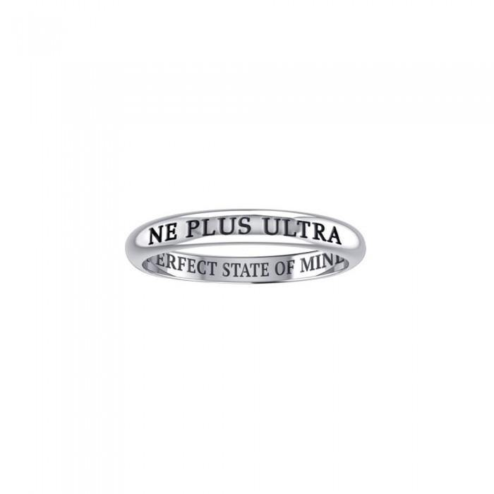 NE PLUS ULTRA PERFECT STATE OF MIND Sterling Silver Ring TRI619 peterstone.