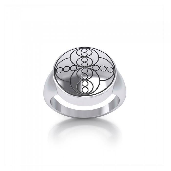 Energy Sterling Silver Ring