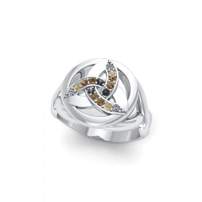 Celtic Trinity Ring TRI659