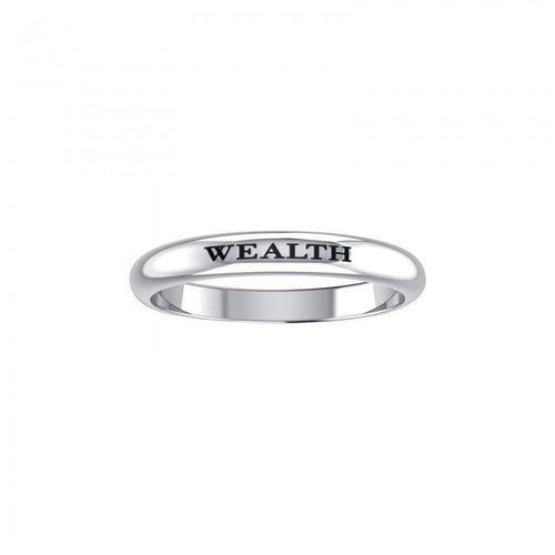 WEALTH Sterling Silver Ring TRI683 peterstone.