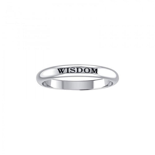 WISDOM Sterling Silver Ring TRI751 peterstone.