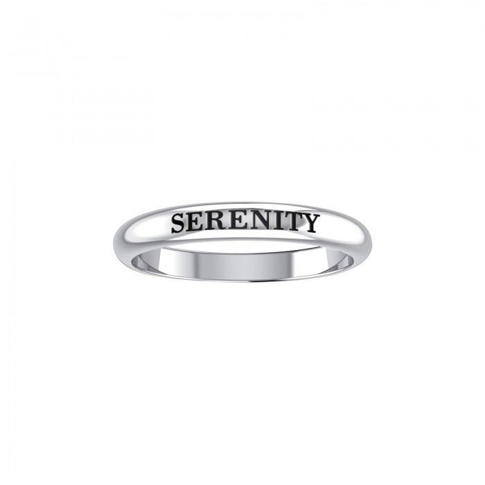 Serenity Silver Ring TRI754 peterstone.