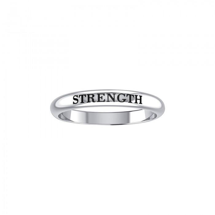 Strength Silver Ring TRI757