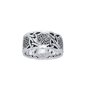Celtic Triquetra Star Ring TRI874 Ring