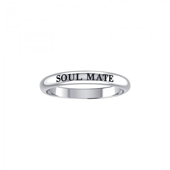 SOUL MATE Sterling Silver Ring TRI924 peterstone.