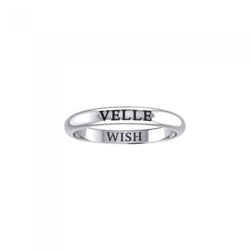 VELLE WISH Sterling Silver Ring TRI925 peterstone.