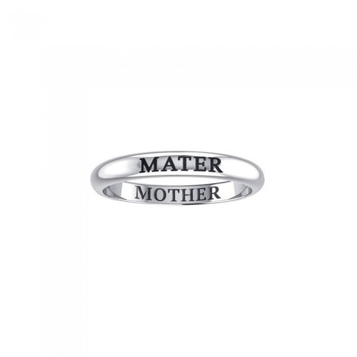 MATER MOTHER Sterling Silver Ring TRI932