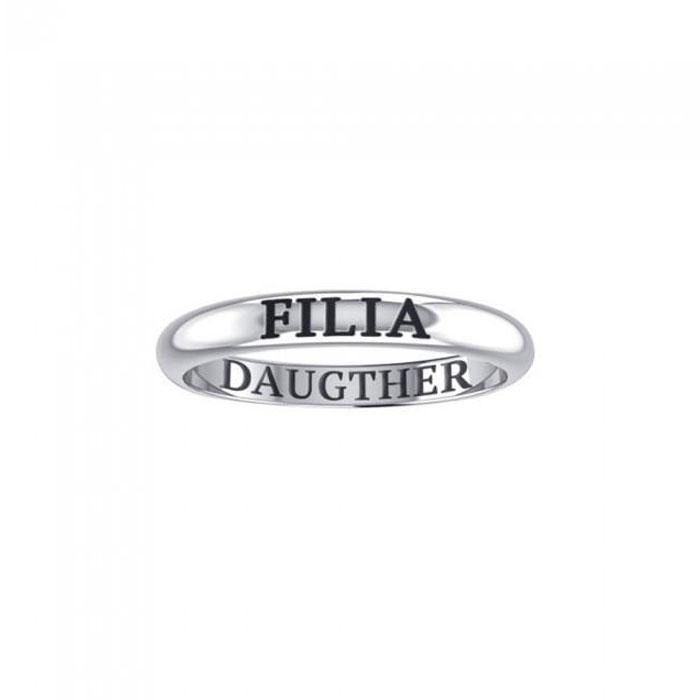 FILIA DAUGHTER Sterling Silver Ring TRI933 peterstone.