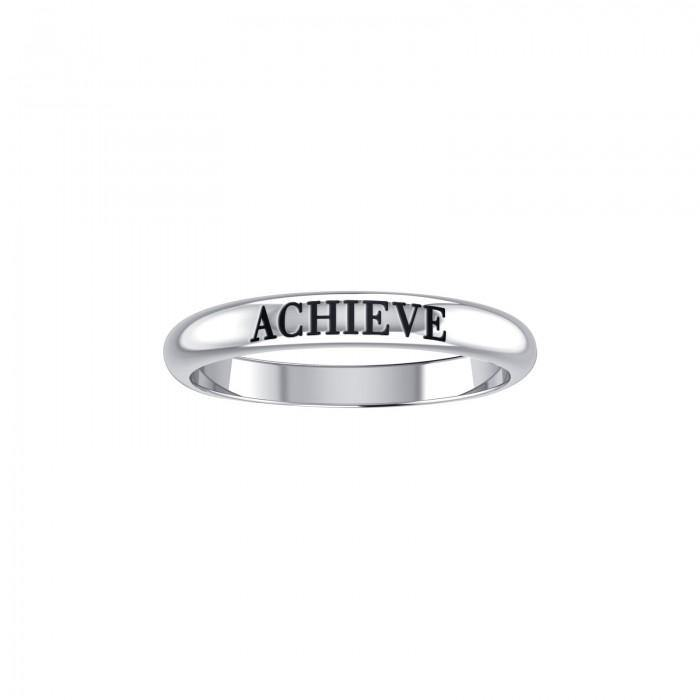 ACHIEVE Sterling Silver Ring TRI945