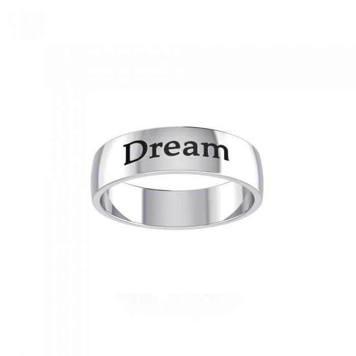 DREAM Sterling Silver Ring TRI980 peterstone.