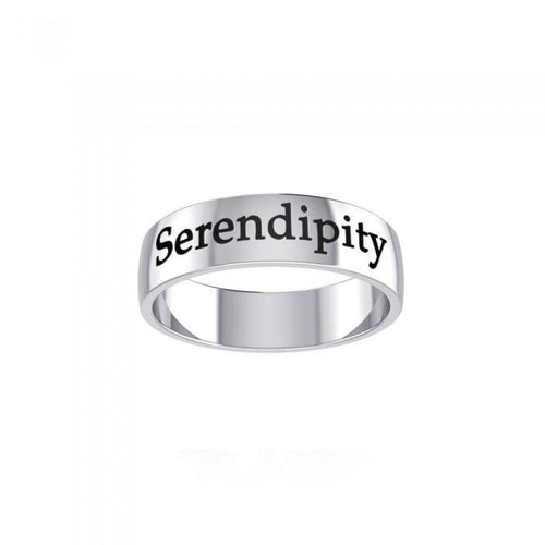 Serendipity Sterling Silver Ring TRI981 peterstone.