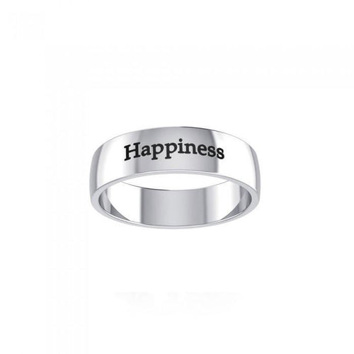Happiness Sterling Silver Ring TRI983 peterstone.