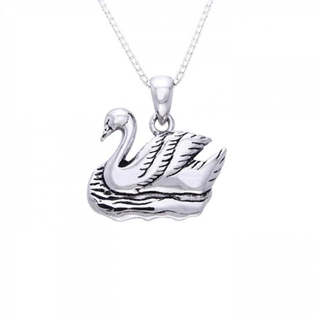 Ted Andrews Swan Necklace TSE146