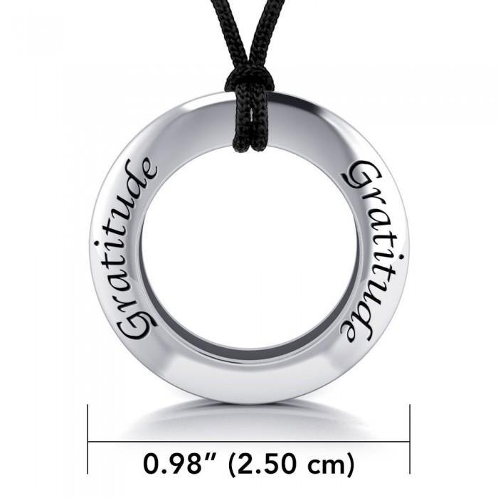 Power Truth Spirit Silver Pendant and Cord Set TSE210 peterstone.