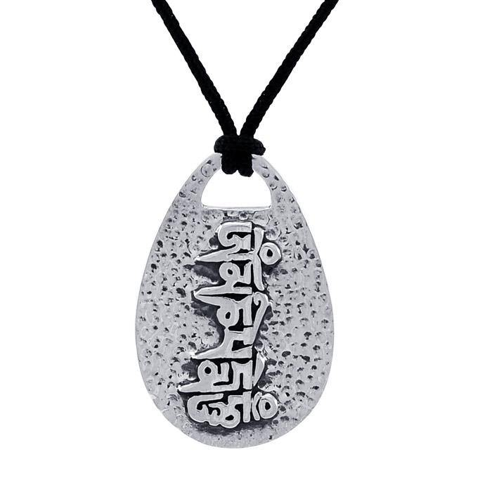 Om Mani Padme Hum Necklace TSE566 peterstone.