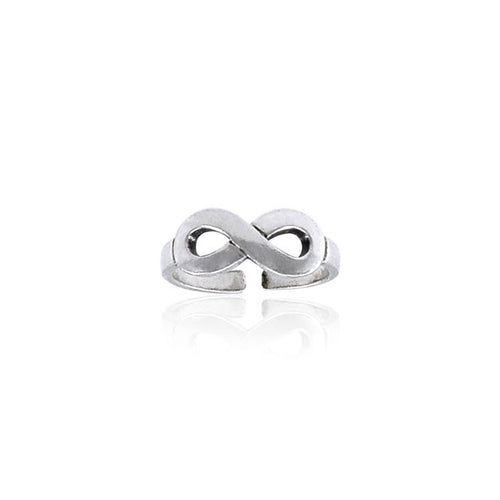 Infinity Sterling Silver Toe Ring TTR068