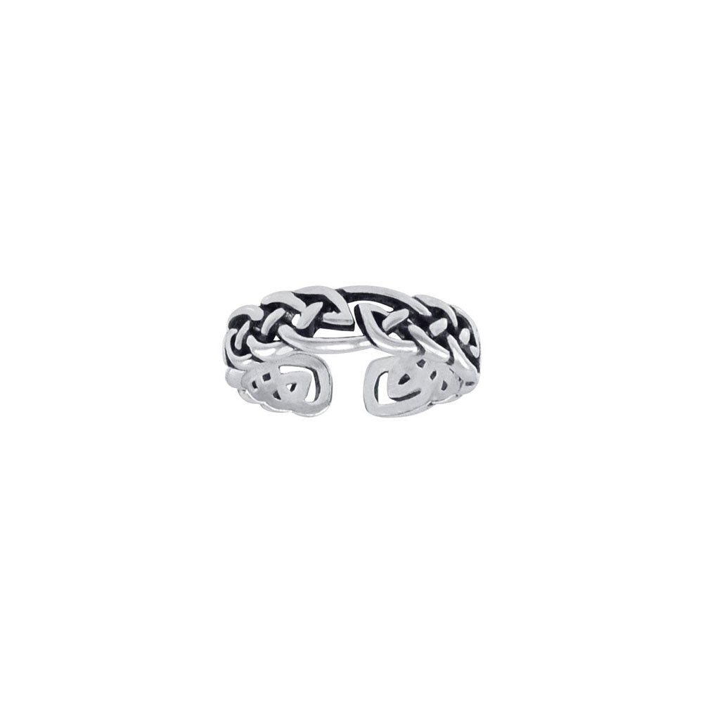 Celtic Knot Work Toe Ring TTR069