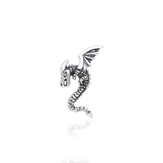 Winged Dragon Silver Tie Tac TTT009
