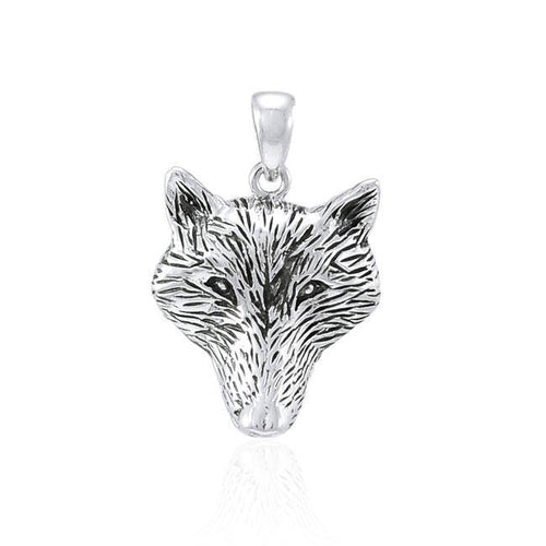 Wolf Head Pendant VP006 peterstone.
