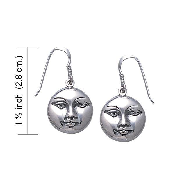 Magick Moon Sterling Silver Earrings WE129