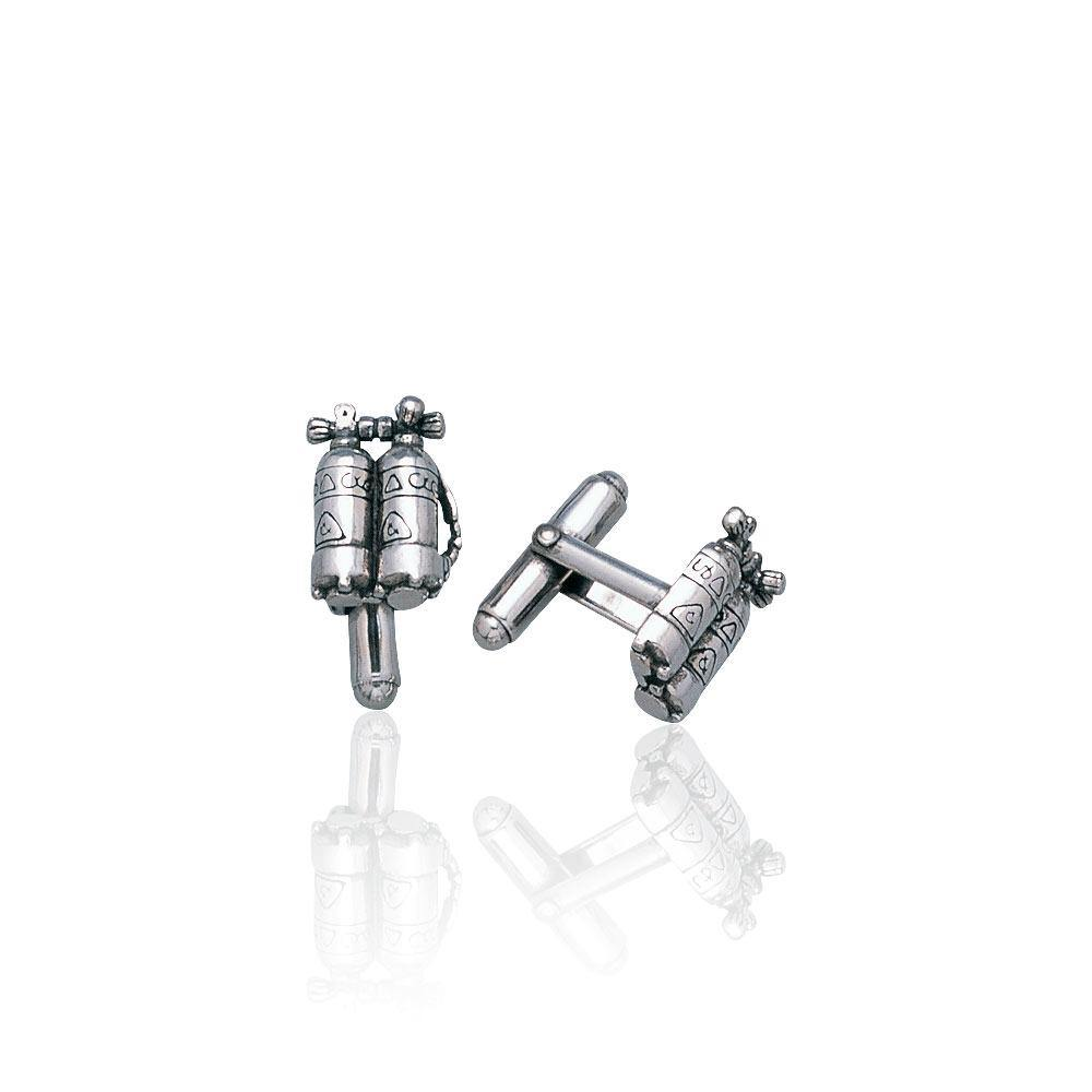 Dive Air Tank Cufflinks CL009