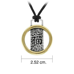 Luck Feng Shui Pendant DSE548 peterstone.