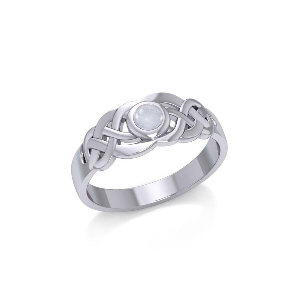 Celtic Knotwork Ring JR153 peterstone.