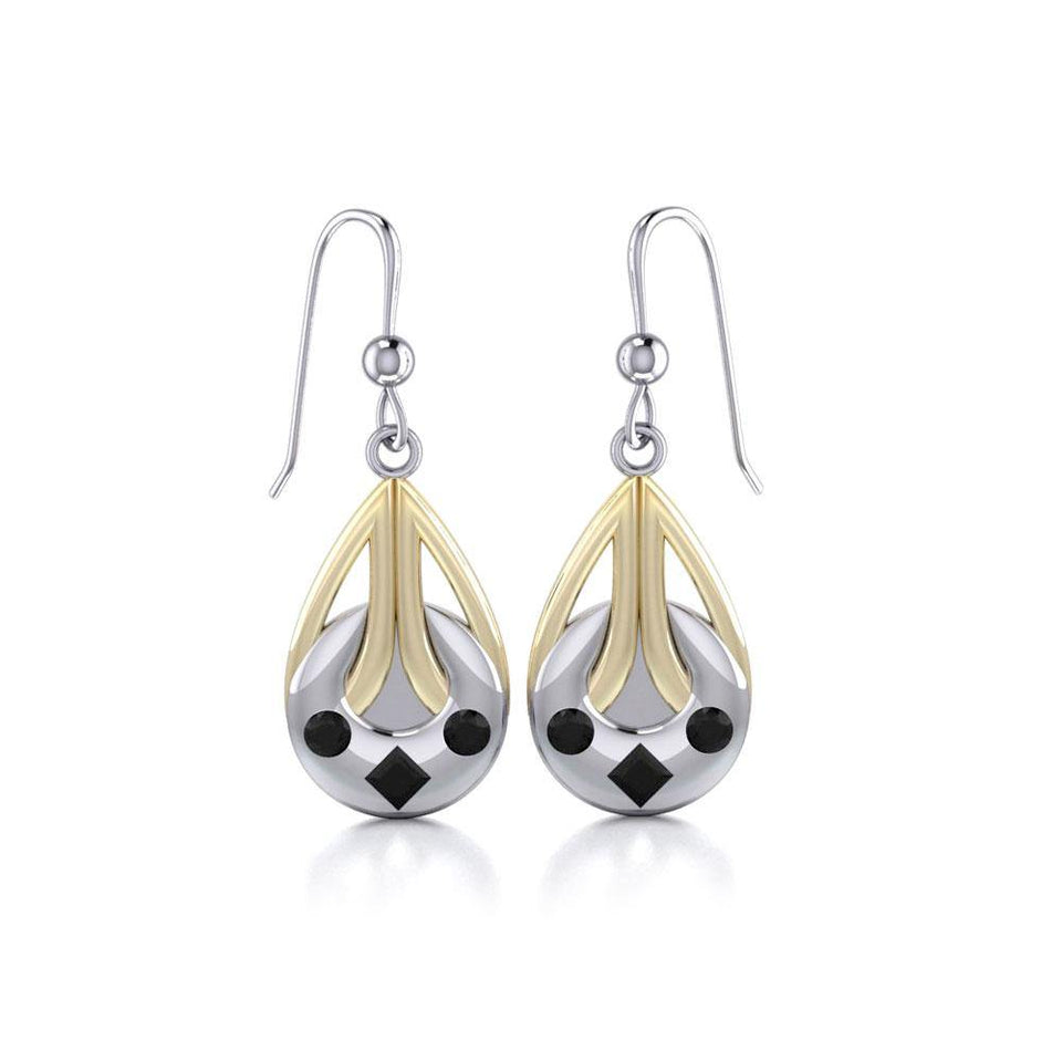Blaque Tear Drop Earrings MER387