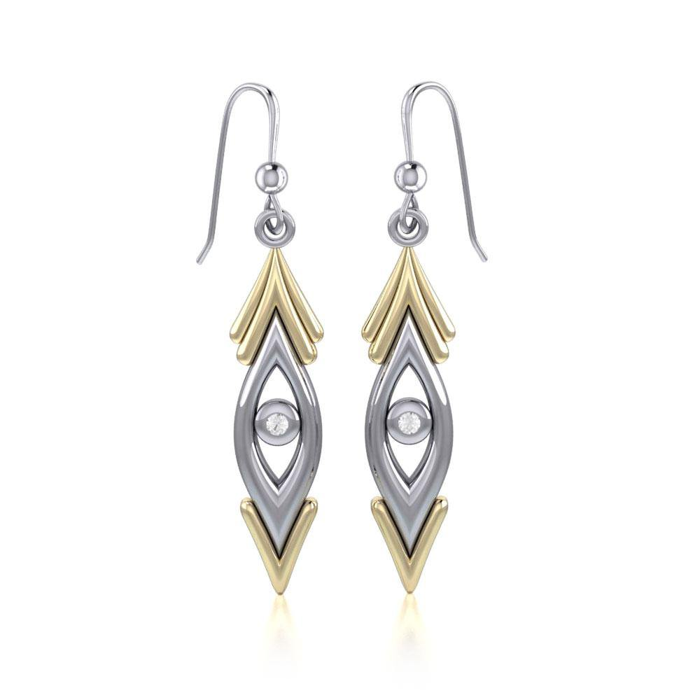 Blaque Silver and Gold Earrings