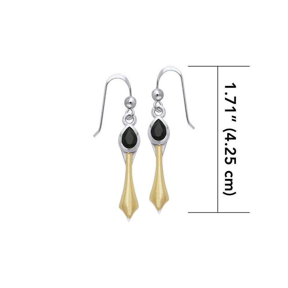 Blaque Pendant Earrings MER407 peterstone.