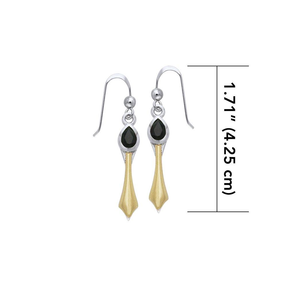 Blaque Pendant Earrings