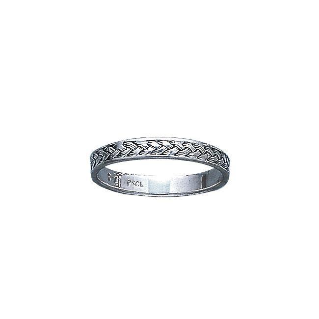 Braided Silver Ring MG163