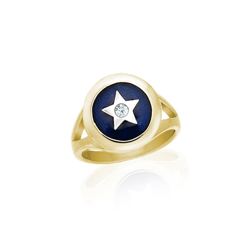 Star Spiritual Eye Ring MRI762