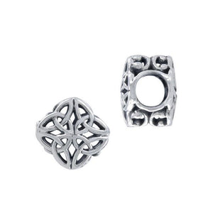 Celtic Knotwork Sterling Silver Bead TBD184 peterstone.