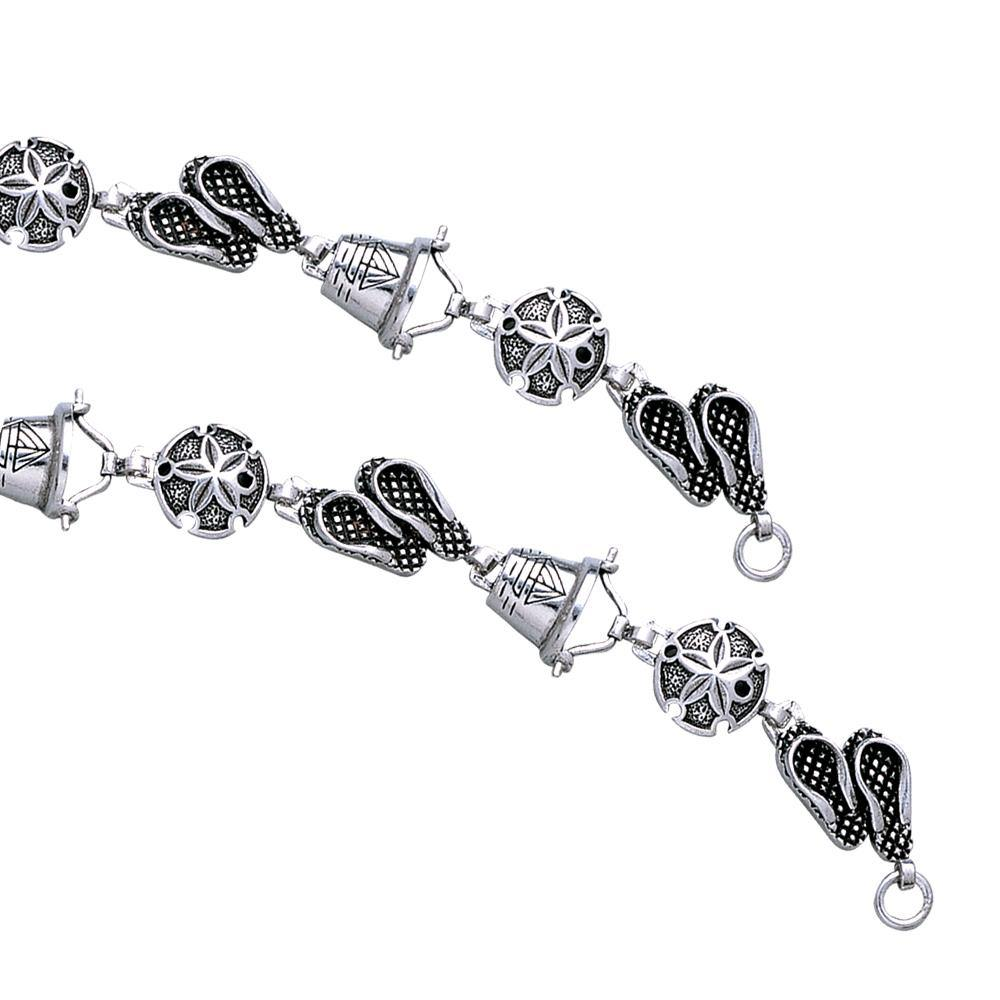 Beach Assortment Silver Bracelet TBG450