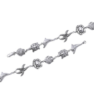 Sealife Sterling Silver Bracelet TBL364 peterstone.